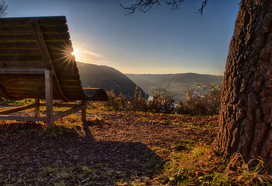 Mosel-Traumpfade, Herbstsonne