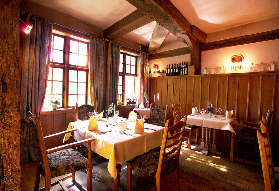 Hotel Arminius in Bad Salzuflen im Teutoburger Wald, Restaurant