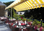 Rüters Parkhotel in Willingen, Terrasse