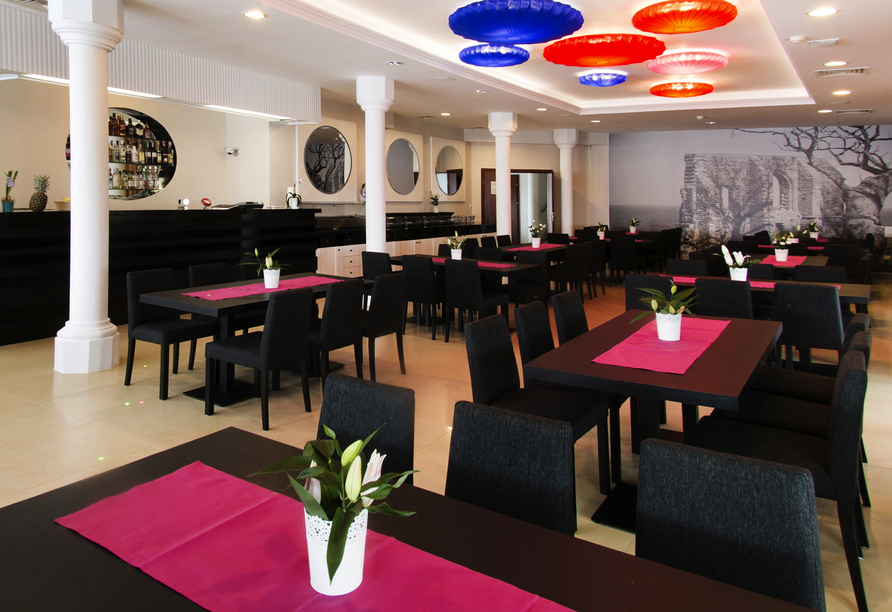 Hotel Panorama Spa, in Rewal, Restraurant
