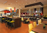 Restaurant und Bar im Courtyard Hotel by Marriott Basel
