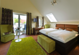 Hotel Storck in Bad Laer, Schlafzimmer Appartment Superior